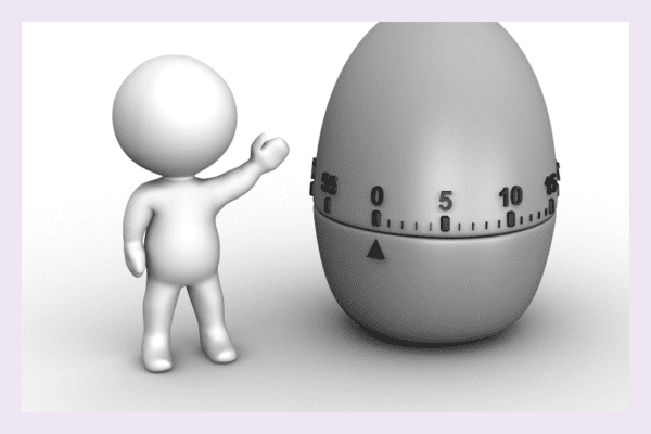 The pomodoro technique can assist with decision making
