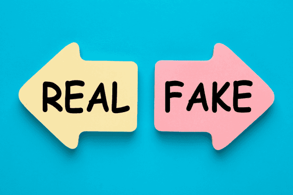 fake confidence is opposite to real confidence