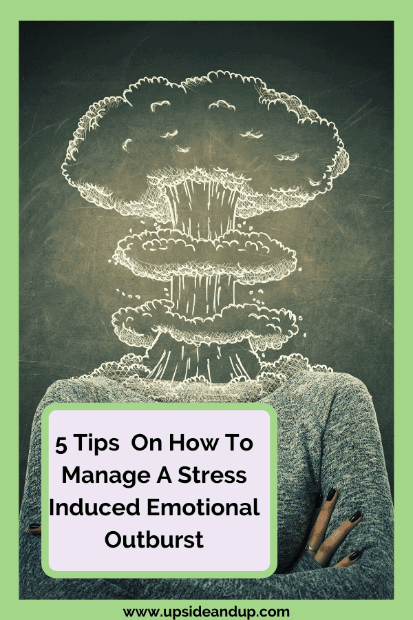 Too much stress leads to our heads exploding - here are 5 tips to manage it